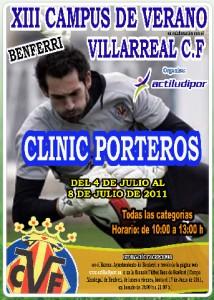 I Clinic de Porteros Villarreal C.F